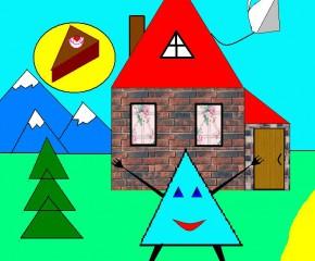 Треугольники очень нужны , треугольники очень важны!