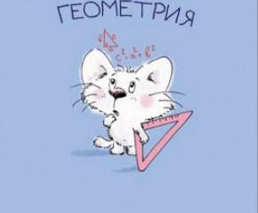 Геометрия. Основные понятия (урок №1,теория)