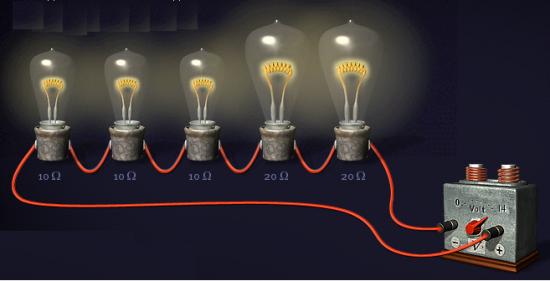 Виды соединения проводников