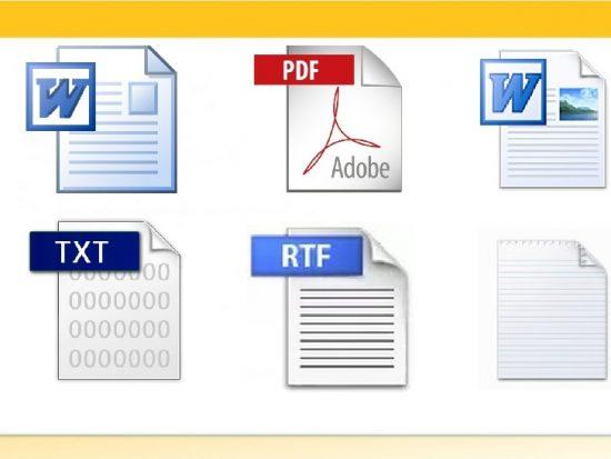 Форматы электронных документов практическое занятие