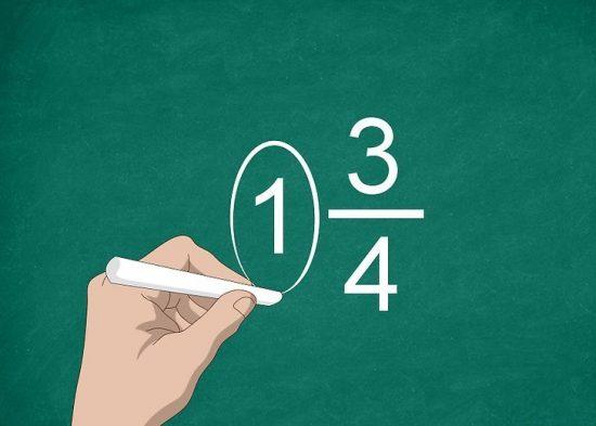 Смешанные числа.  Урок 5 класса.